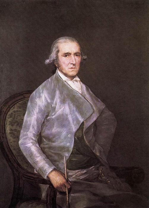 Портрет художника Франсиско Байеу. Франсиско Хосе де Гойя-и-Лусьентес