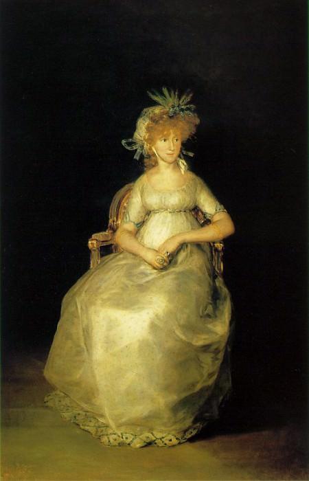 Countess Of Chinchon. Francisco Jose De Goya y Lucientes