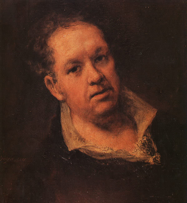 Self Portrait. Francisco Jose De Goya y Lucientes