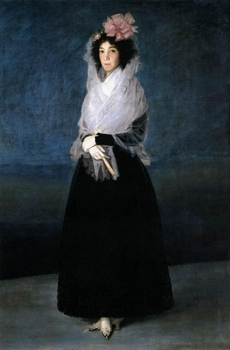 The Marquesa de la Solana. Francisco Jose De Goya y Lucientes