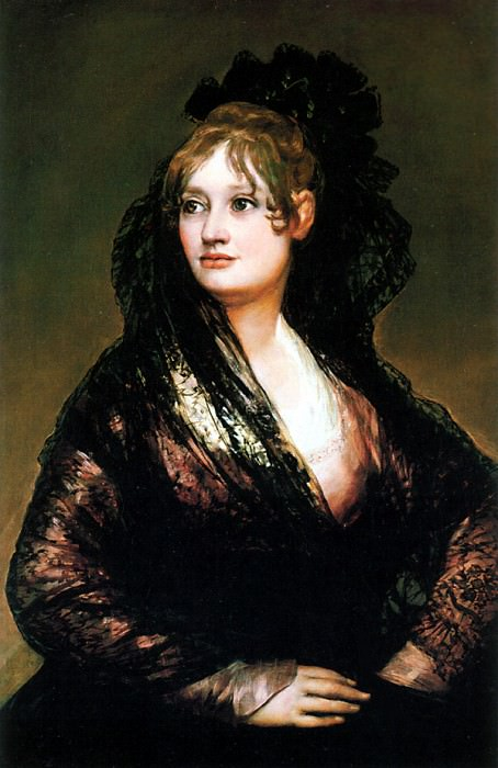 DonaIsabel-de-Porcel. Francisco Jose De Goya y Lucientes