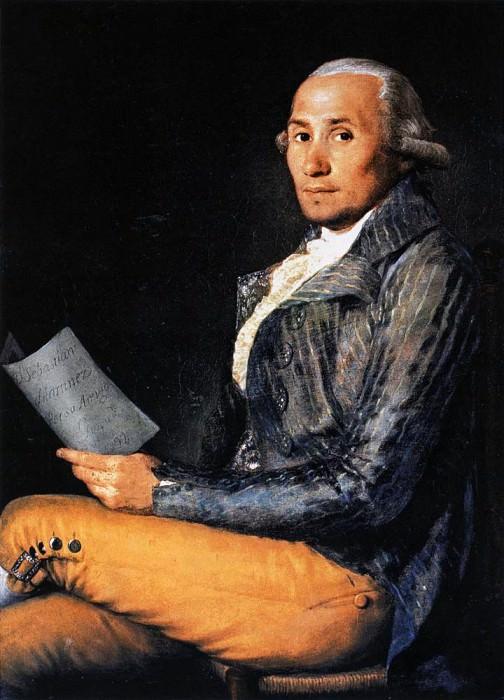 Себастьян Мартинес. Франсиско Хосе де Гойя-и-Лусьентес