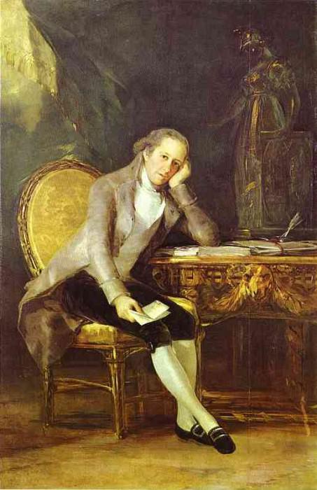 1797 Gaspar Melchor de Jovellanos. Francisco Jose De Goya y Lucientes