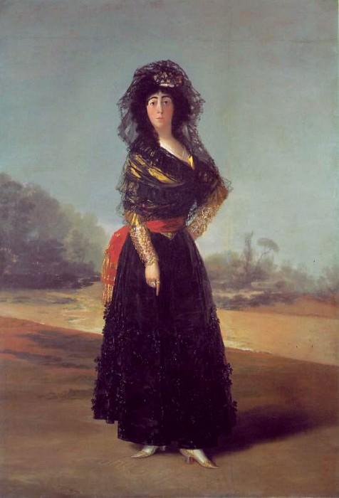 Duchess of Alba, 1797, 210.2x149.3 cm, Hispanic Society. Francisco Jose De Goya y Lucientes