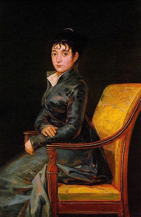 Донья Тереса Суреда. Франсиско Хосе де Гойя-и-Лусьентес