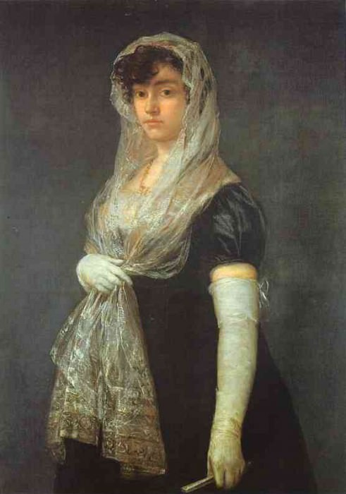 The Booksellers Wife. Francisco Jose De Goya y Lucientes