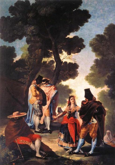 Прогулка в Андалусии. Франсиско Хосе де Гойя-и-Лусьентес
