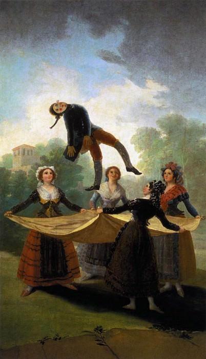 Соломенный манекен. Франсиско Хосе де Гойя-и-Лусьентес