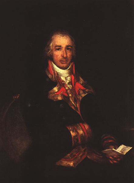 1802 Portrait of Don Jose Queralto. Francisco Jose De Goya y Lucientes