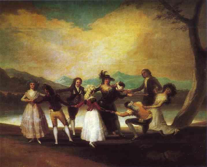 Blind Mans Bluff. Francisco Jose De Goya y Lucientes