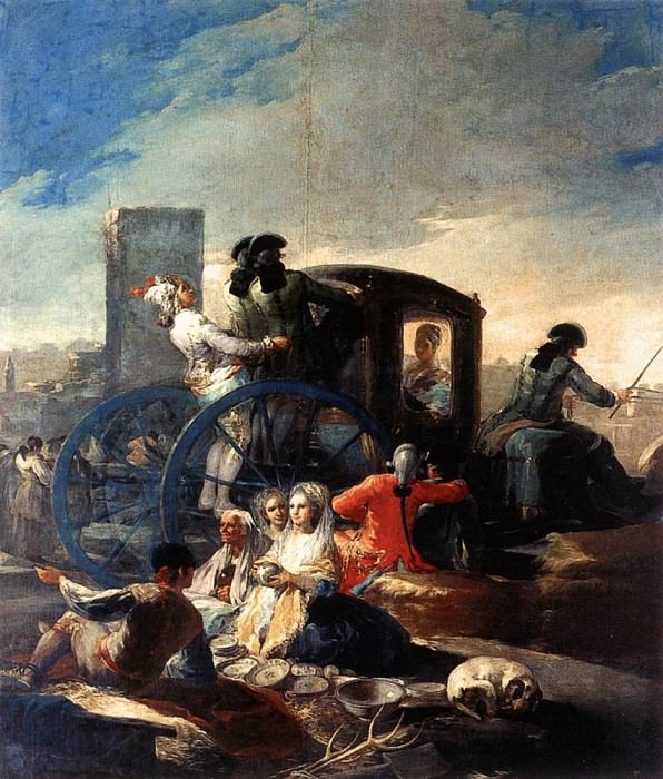 The Crockery Vendor. Francisco Jose De Goya y Lucientes