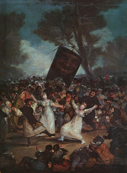 The Burial of the Sardine. Francisco Jose De Goya y Lucientes