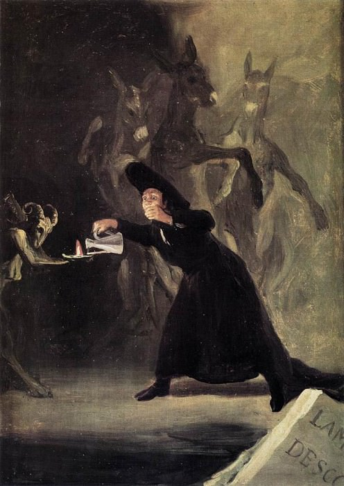 The Bewitched Man. Francisco Jose De Goya y Lucientes