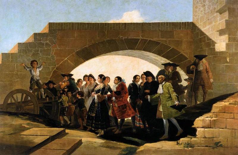 Свадьба. Франсиско Хосе де Гойя-и-Лусьентес