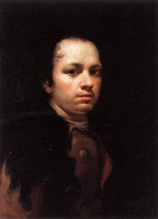 Self Portrait. Francisco Jose De Goya y Lucientes