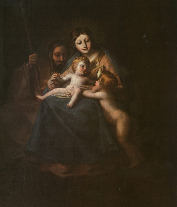 The Holy Family. Francisco Jose De Goya y Lucientes
