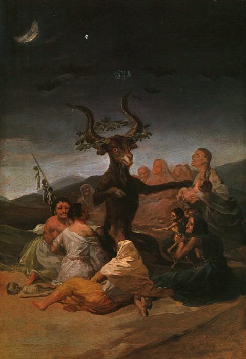 Witches Sabbath. Francisco Jose De Goya y Lucientes