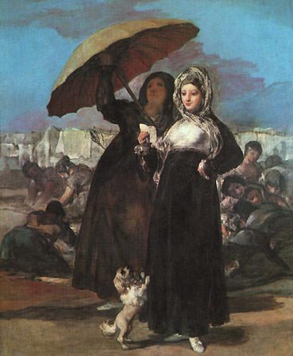 Молодость. Франсиско Хосе де Гойя-и-Лусьентес
