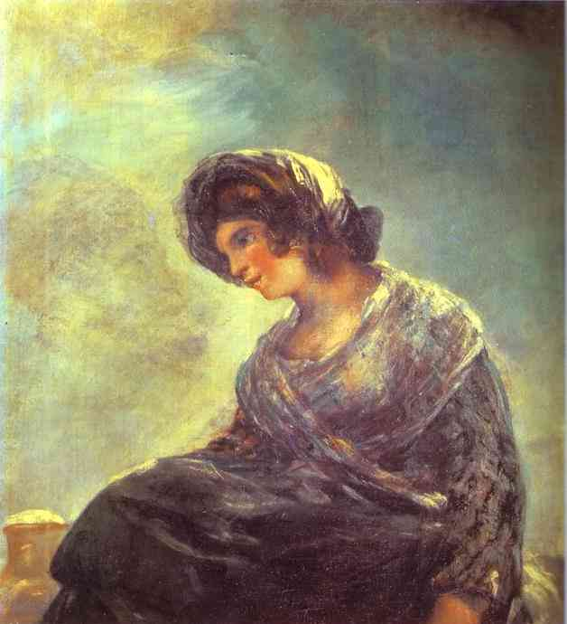 The Milkmaid of Bordeaux. Francisco Jose De Goya y Lucientes