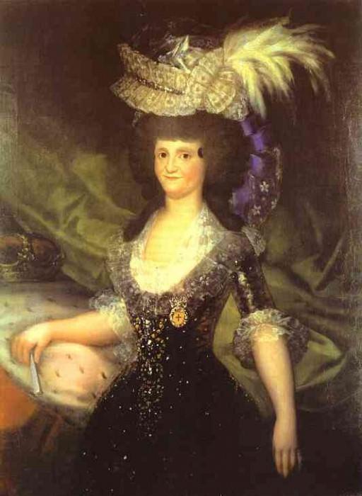 Королева Мария Луиза. Франсиско Хосе де Гойя-и-Лусьентес