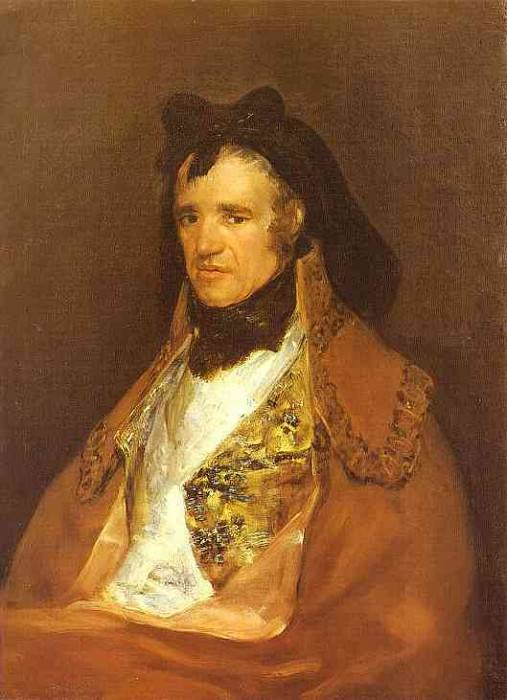 Portrait of Pedro Mocarte, a Singer of the Cathedral of Toledo. Francisco Jose De Goya y Lucientes