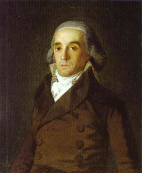 The Count of Tajo. Francisco Jose De Goya y Lucientes