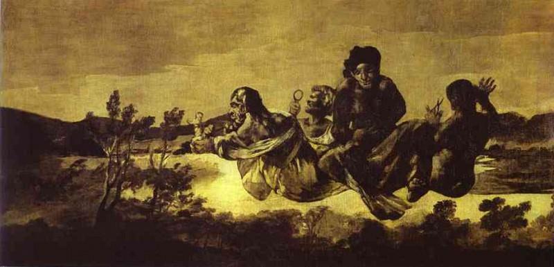 Atropos (Atropos or Fate). Francisco Jose De Goya y Lucientes