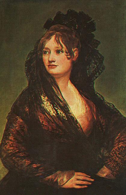 Dona Isabel Cobos de Porcel. Francisco Jose De Goya y Lucientes
