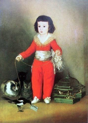 goyaprins. Francisco Jose De Goya y Lucientes