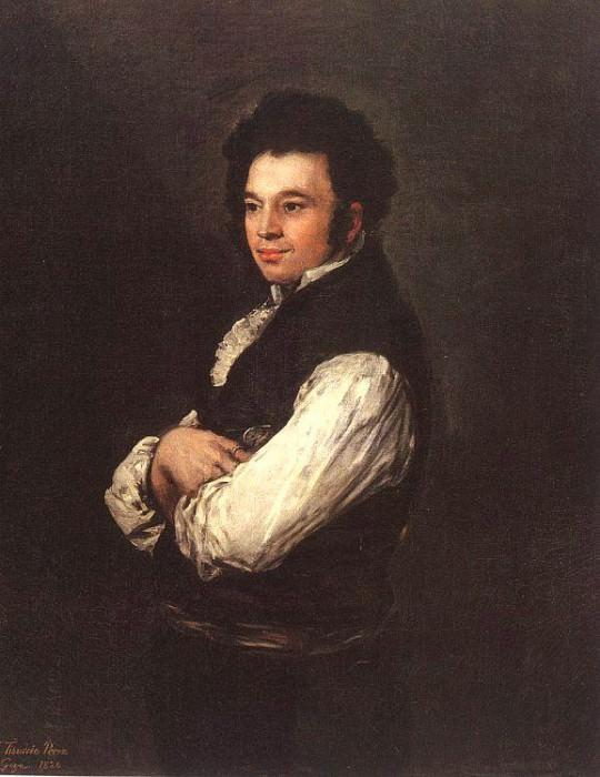 The Architect Don Tiburcio Perezy Cuervo. Francisco Jose De Goya y Lucientes