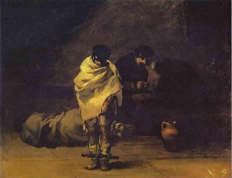 Prison Scene. Francisco Jose De Goya y Lucientes