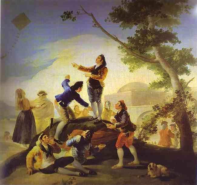 La cometa (The Kite). Francisco Jose De Goya y Lucientes