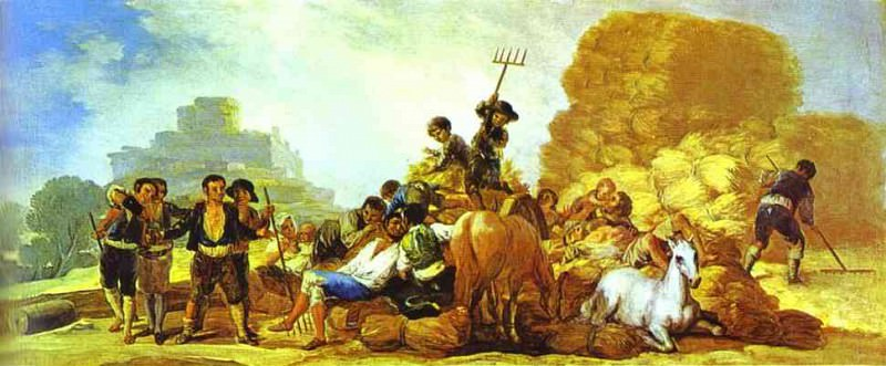 Summer. Francisco Jose De Goya y Lucientes