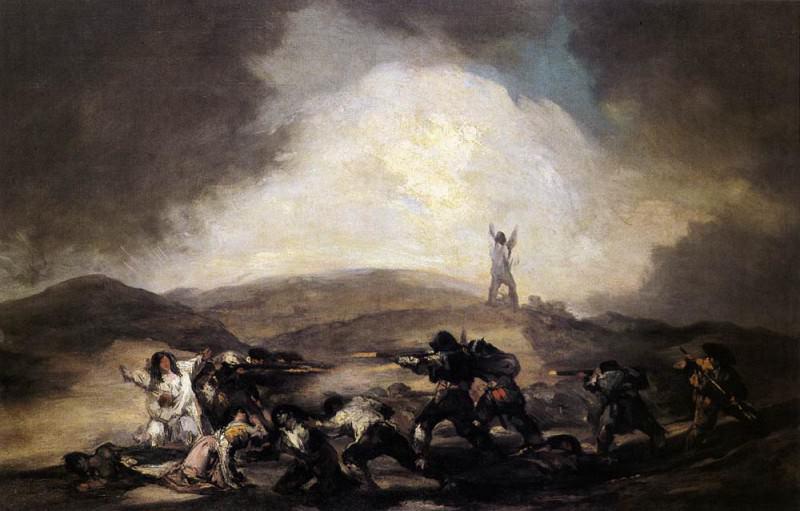 Robbery. Francisco Jose De Goya y Lucientes
