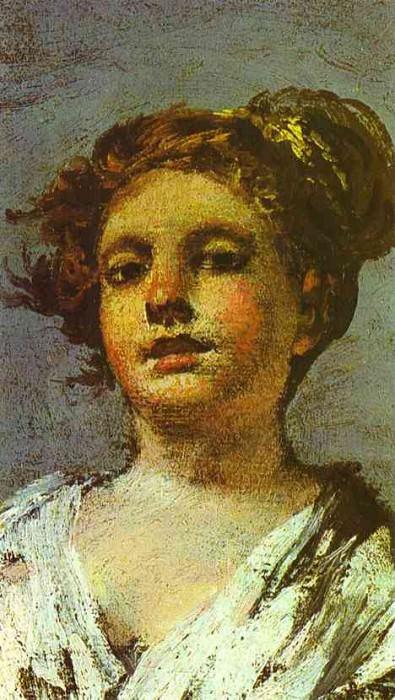 Girl with a Jug. (Aguadora). Francisco Jose De Goya y Lucientes