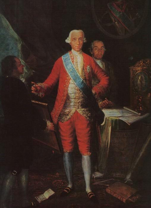 The Count of Floridablanca. Francisco Jose De Goya y Lucientes