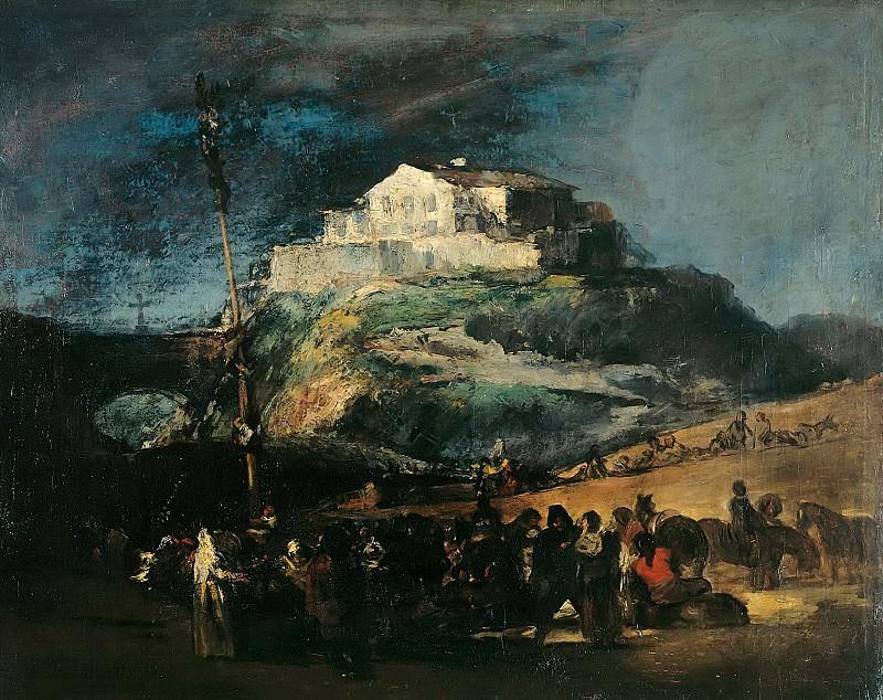 Maypole. Francisco Jose De Goya y Lucientes