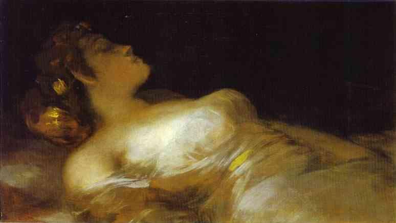 1800 Sleep. Francisco Jose De Goya y Lucientes