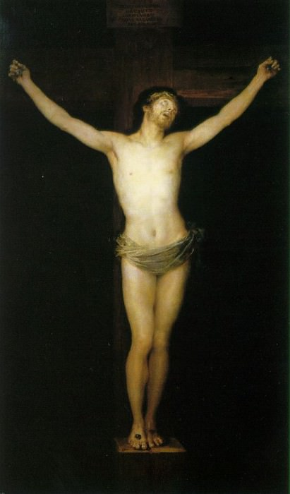 Crucified Christ. Francisco Jose De Goya y Lucientes