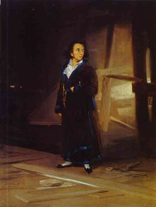 Portrait of the Artist Julio Asensio. Francisco Jose De Goya y Lucientes
