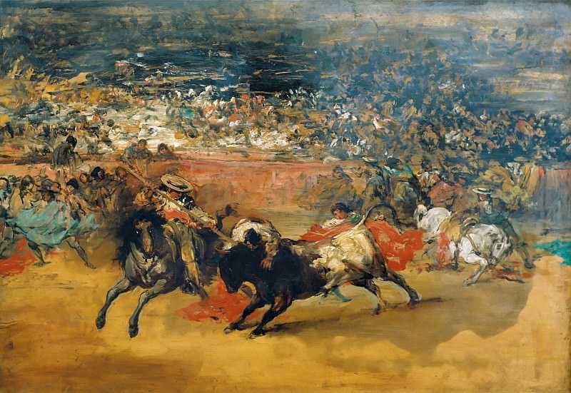 The Bullfight. Francisco Jose De Goya y Lucientes