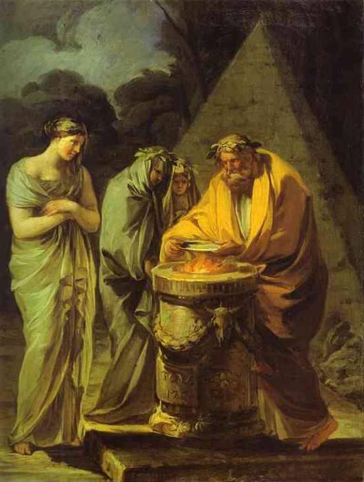 The Sacrifice to Vesta. Francisco Jose De Goya y Lucientes