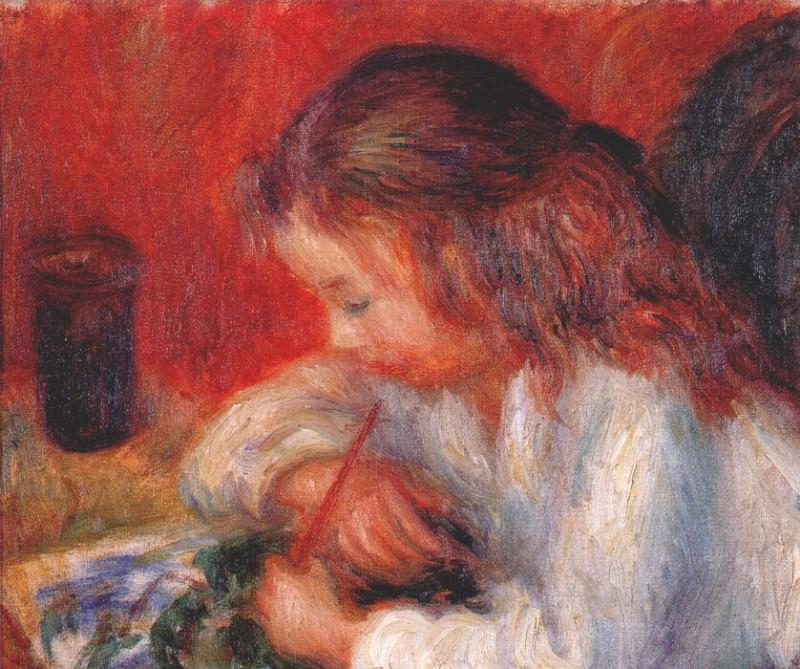 lenna painting c1918. William James Glackens