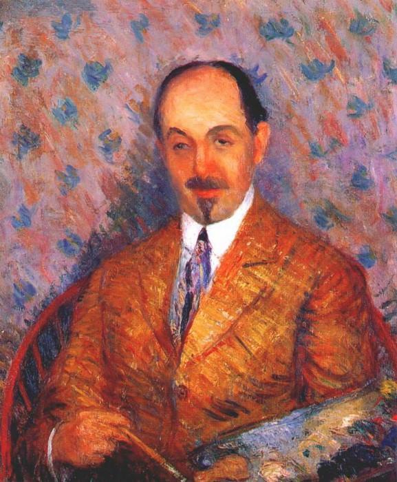 portrait of ernest lawson 1910. William James Glackens