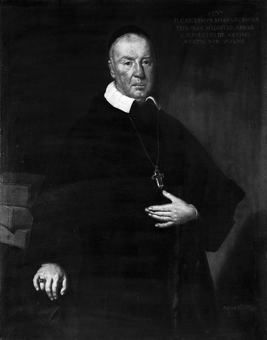 Священник Гаэтано Марензи. Витторе Джузеппе Гисланди (школа)