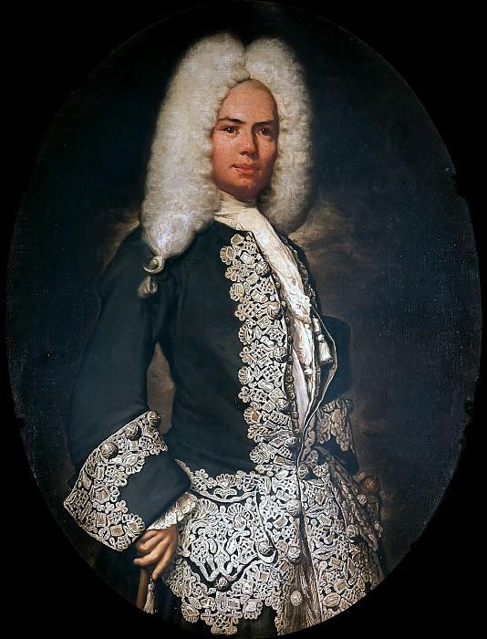 Portrait of a Gentleman. Vittore Giuseppe Ghislandi