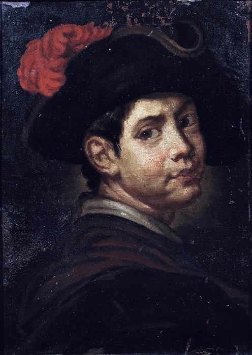 Портрет юноши в треуголке. Витторе Джузеппе Гисланди (школа)