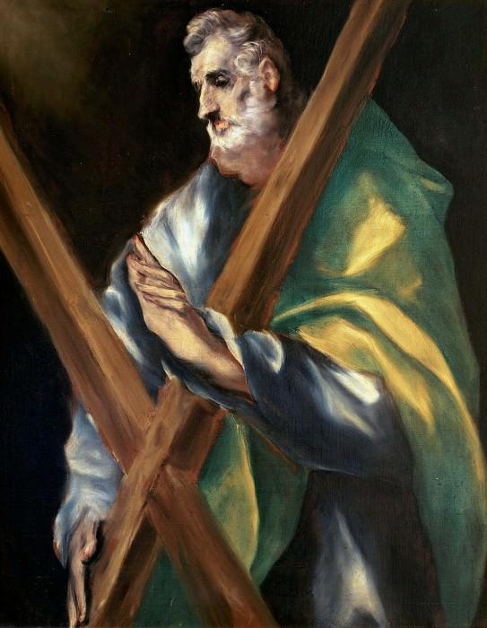 Apostle Andrew. El Greco