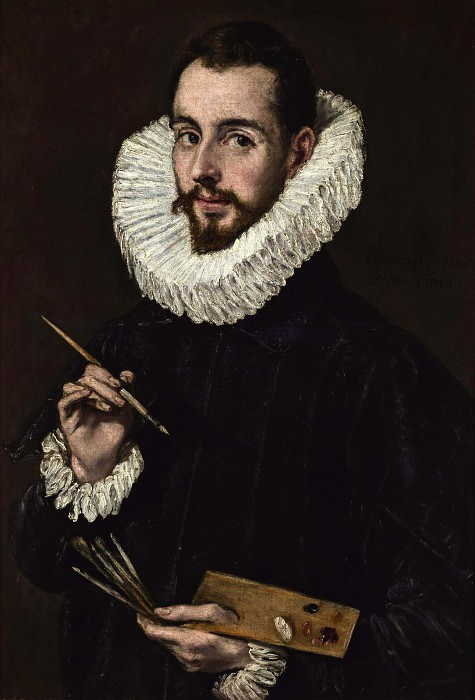 Portrait of the Artist's Son Jorge Manuel. El Greco