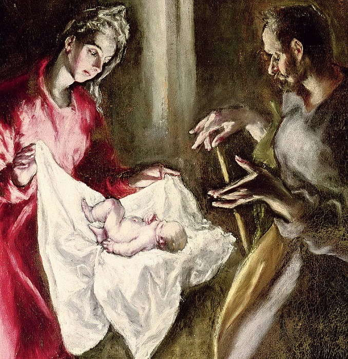 The Nativity. El Greco